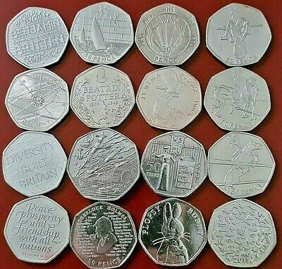 £10.79 • Buy 50p COINS FIFTY PENCE,OLYMPICS,BEATRIX POTTER,COMMEMORATIVE,KEW COIN