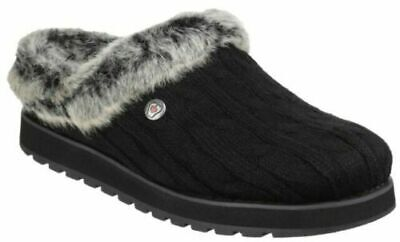 Womens Skechers Bobs Keepsake Ice Angel Warm Comfort Memory Foam Slippers  • 35£