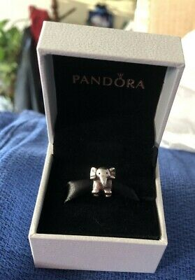 AU13.04 • Buy Pandora Elephant Charm Retired