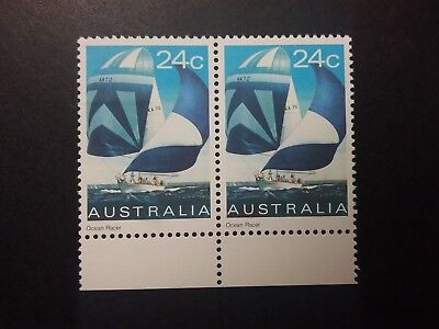 AU1.99 • Buy 1981 MINT Yacht 24c - Joined Pair With Tab Mgnh YB Muh Will Combine Post
