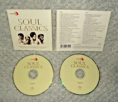 Various Artists - Capital Gold Soul Classics (CD DISCS & SLEEVE ONLY, 2-Disc) • 2.99£