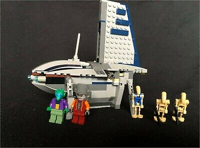 Lego Star Wars 8036, Separatists Shuttle, Five Minifigures • 15£