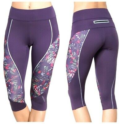 £19.24 • Buy Triumph Triaction Cardio Apparel Better Capri Sports Violet S XL