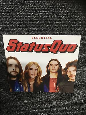 £4.95 • Buy STATUS QUO THE ESSENTIAL 3-CD SET (Greatest Hits) New Sealed Digipak Free Post