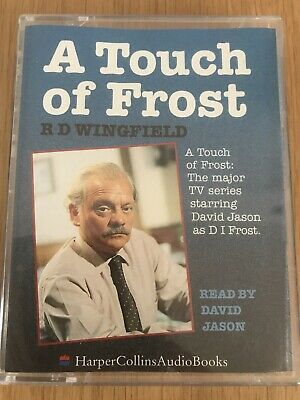 Audio Book - A Touch Of Frost - R D Wingfield - 2 Cassettes Read By David Jason • 5£