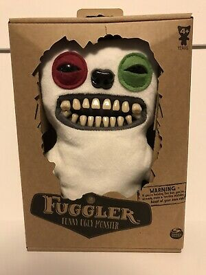 $ CDN76.12 • Buy FUGGLER Funny Ugly Monster Mr. Button White Red/Green Eyes 2019 NIB