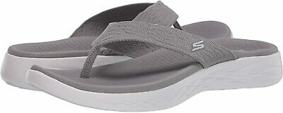 Skechers Women's Shoes Goga Mat Open Toe Casual, Grey, Size 9.0 FcEl US • 23.99£