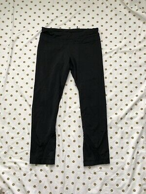 $ CDN19.03 • Buy Lululemon Women's Capri Black Workout Yoga Leggings Size 6 Inseam 22""