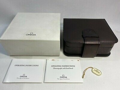 $ CDN100.76 • Buy GENUINE OMEGA Speedmaster Professional Watch Box Case Booklet 0228112
