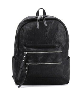 Casual Solid Colour School Bag Student Backpack • 15.99£