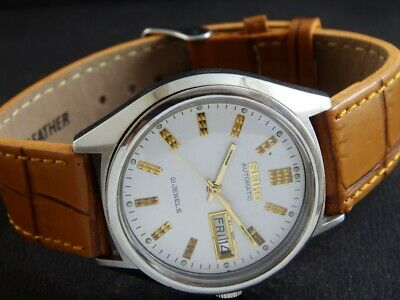 $ CDN24.73 • Buy OLD VINTAGE SEIKO 5 AUTOMATIC JAPAN MEN'S DAY/DATE WATCH 436-a218989-1
