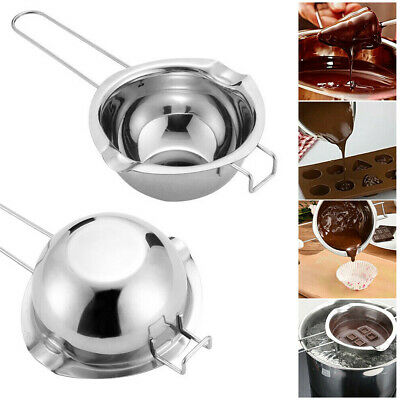 Stainless Steel Wax Melting Pot Double Boiler For DIY Wedding Scented Candle New • 5.85£
