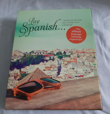£9.99 • Buy LIVE SPANISH THE ULTIMATE LANGUAGE LEARNING EXPERIENCE By TEACH YOURSELF