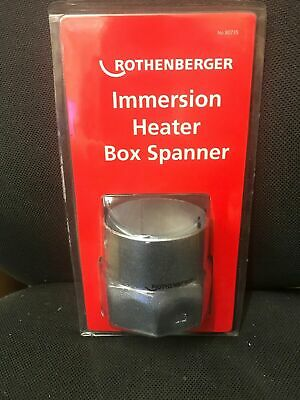 ROTHENBERGER IMMERSION HEATER BOX SPANNER 80735 PLUMBING TOOLS 86mm TOMMY BAR • 6.75£