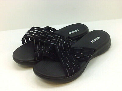Skechers Women's Shoes Flip Flops, Black, Size 9.0 US / 7 UK • 41.99£