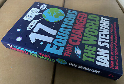 Seventeen Equations That Changed The World By Ian Stewart (Paperback, 2012) • 1.70£