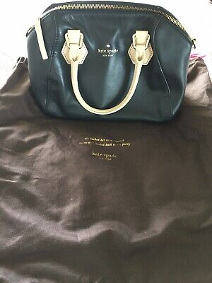 AU40 • Buy Kate Spade Bag Two Tone Greys Near New Condition Cross Body Strap Mid Size