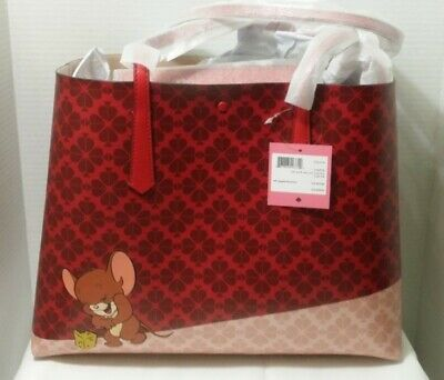 $ CDN179 • Buy New In Box - Kate Spade Tom & Jerry Large Tote Bag Purse