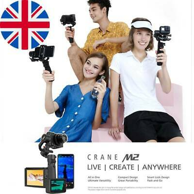 AU446.55 • Buy ZHIYUN Official Crane M2 Gimbals For Smartphones Phone Mirrorless Action Compact