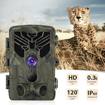 £46.19 • Buy 20MP Trail Camera HC810A 44 LED Surveillance Field Detection SD Card To 64GB