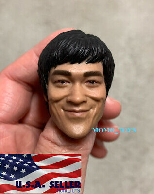 $39.99 • Buy 1/6 Kung Fu Head Sculpt For 12  Hot Toys Enterbay PHICEN Male Figure Body ❶USA❶