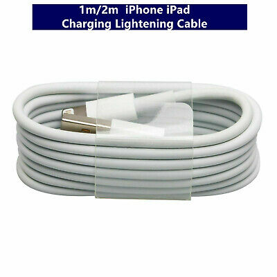 AU4.99 • Buy 1M 2M USB Fast Charging Cable Compatible For IPhone IPad 10 11 12 X XR Plus AU