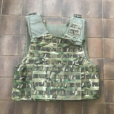 £24.95 • Buy British Army Osprey MTP Molle Vest Plate Carrier With Ops Panel Size Large Plus