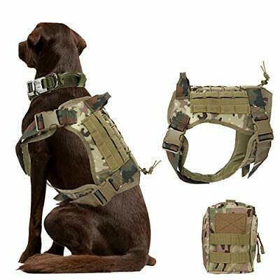 £35.99 • Buy XL Tactical Dog Harness Military Dog Harness Working Dog Vest Camouflage