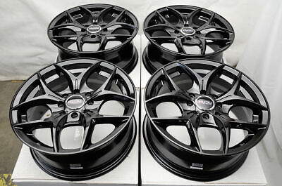$499 • Buy 15  Wheels Rims Fit Honda Accord Civic Corolla Miata Lancer Nissan Versa Black