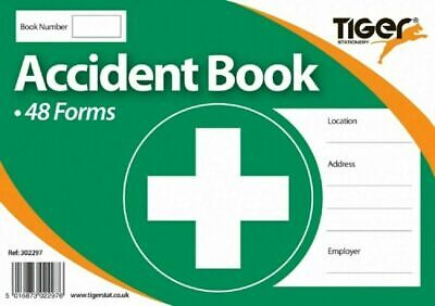 £3.45 • Buy Accident Report Book First Aid School Office  Injury Health Record 48 Forms