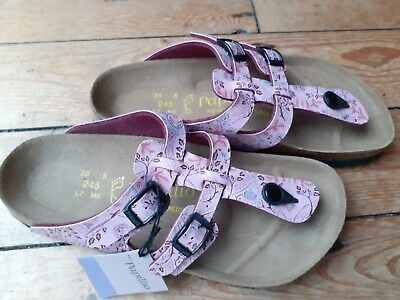 Birkenstock Papillio Size 38/5 Two Strap Toe Post Sandals; New With Tag;  • 37£