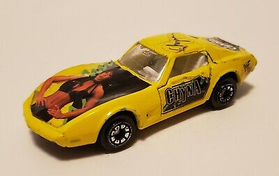 $ CDN139.49 • Buy RARE 1999 Welly WWF Chyna Yellow Corvette Car Wrestling Metal