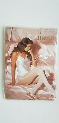 WOLFORD SATIN TOUCH 20 Den Tights Size L LARGE In COSMETIC Beige Nude Natural • 14£