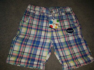 £4 • Buy Boys Checked Shorts Age 7-8 Years  NEW