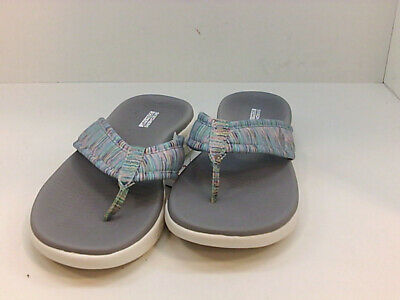 Skechers Women's Shoes Wpbswn Flip Flops, MultiColor, Size 6.0 1pax US • 31.99£
