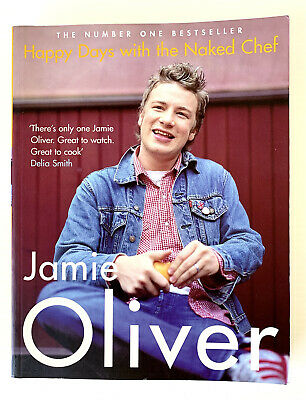 AU19.95 • Buy Jamie Oliver Happy Days With The Naked Chef Recipe Cook Book Paperback FREE POST