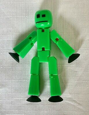 Solid Green Stikbot Figure **EXCELLENT CONDITION** • 5£