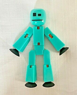 Solid Aqua Stikbot Figure **EXCELLENT CONDITION** • 5£