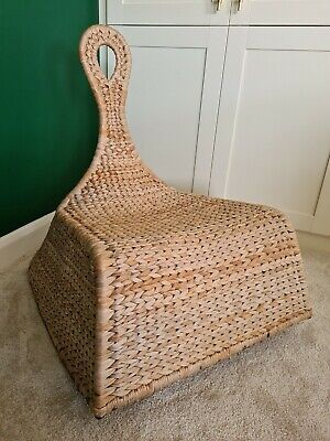 Ikea Gullhommen Rocking Chair Banana Fibre Nursing Statement Nursery  • 10£
