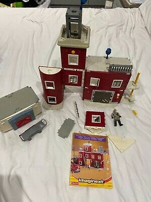 Fisher Price Imaginext Fire Station (incomplete) Spare Pieces & Hospital Spares • 7£