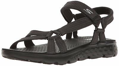 Skechers Performance Women's On The Go 400 Radiance Flip Flop, Black, Size 9.0 • 26.99£