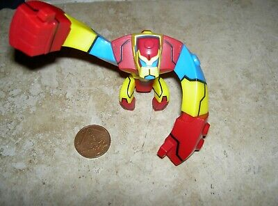 Ben 10 Action Figure 3.5 Inches 9cm Tall Alien Force Toy BanDai Feet Missing • 4.99£