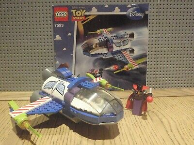 Lego Toy Story 7593 Buzz's Star Command Spaceship (Missing Zurg's Head) • 20£