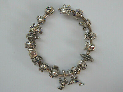 AU30 • Buy Choice Of GENUINE PANDORA S/Silver ANIMAL Charms. MOST RETIRED