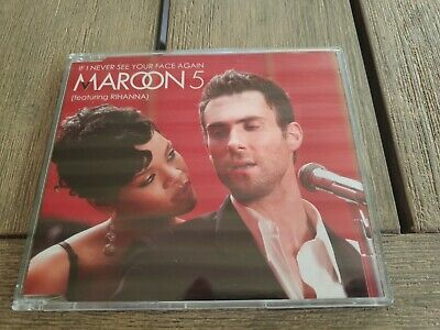 AU0.99 • Buy CD SINGLE MAROON 5 / RIHANNA - If I Never See Your Face Again (Rare Australian)