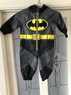 Next Batman Splash Suit/ Puddle Suit  12-18 Months • 0.99£