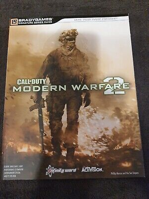 Call Of Duty - Modern Warfare 2 - Official Strategy Guide - PS3, XBOX 360 & PC • 4.99£