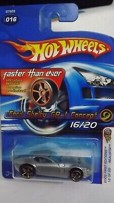$2.79 • Buy  2005 First Edition Hotwheels FTE Ford Shelby GR-1 Concept 16/20 Realistix