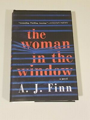 AU1.62 • Buy The Woman In The Window By A.J. Finn - HC/DJ FIRST EDITION 2018