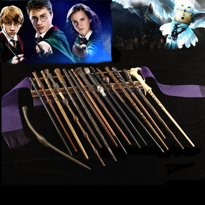 Film Replic Harry Potter Wands With Metal Cores Magic Wand 32 Different Design ~ • 11.99£